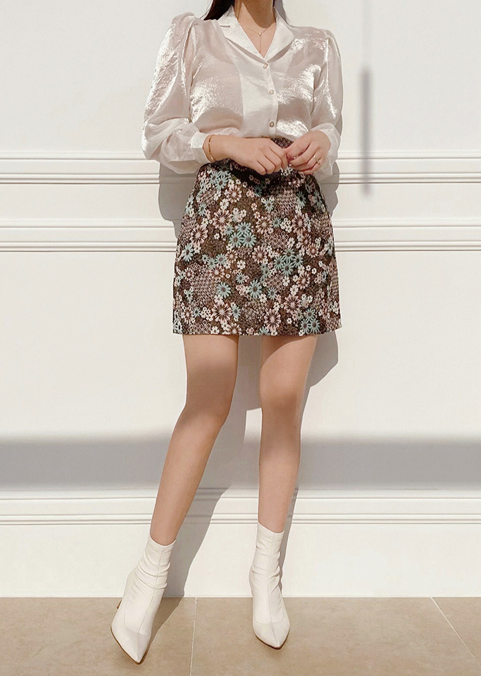 Clover Mini Skirt (Mix)