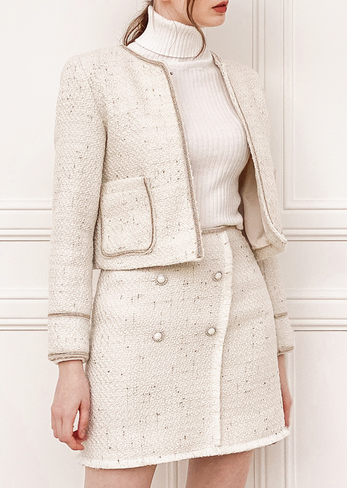 Tweed Two-piece (Ivory)