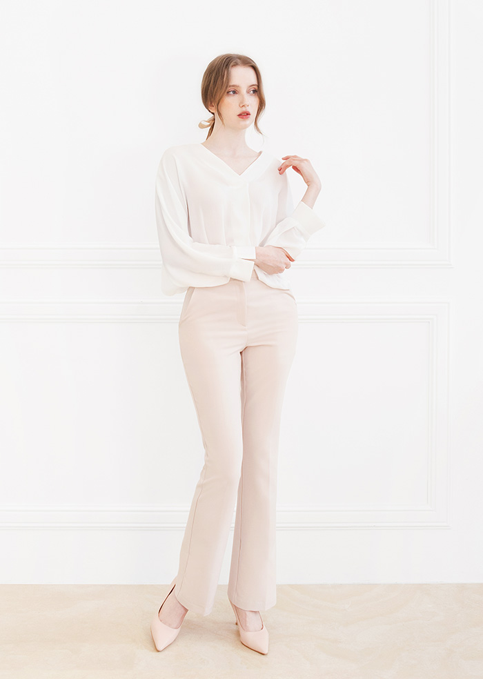 Long Slacks (Ivory)