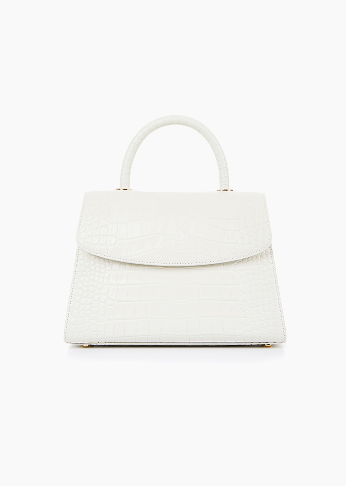Grace Plie Bag (Ivory)