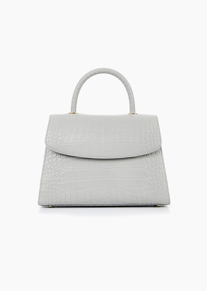 Grace Plie Bag (Grey)