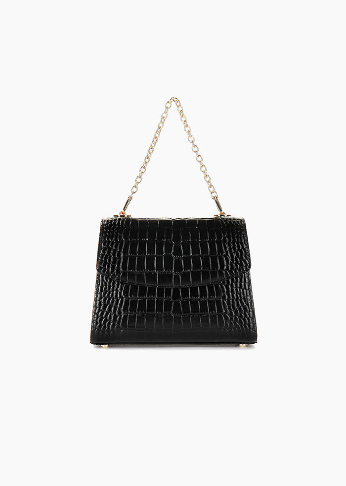 Grace Plie Mini Bag (Black)